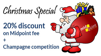 Christmas & New Year Discount Code and Champagne Competition